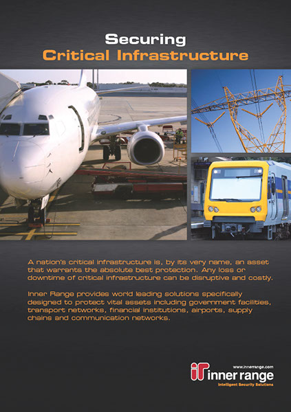 Critical Infrastructure Industry Brochure